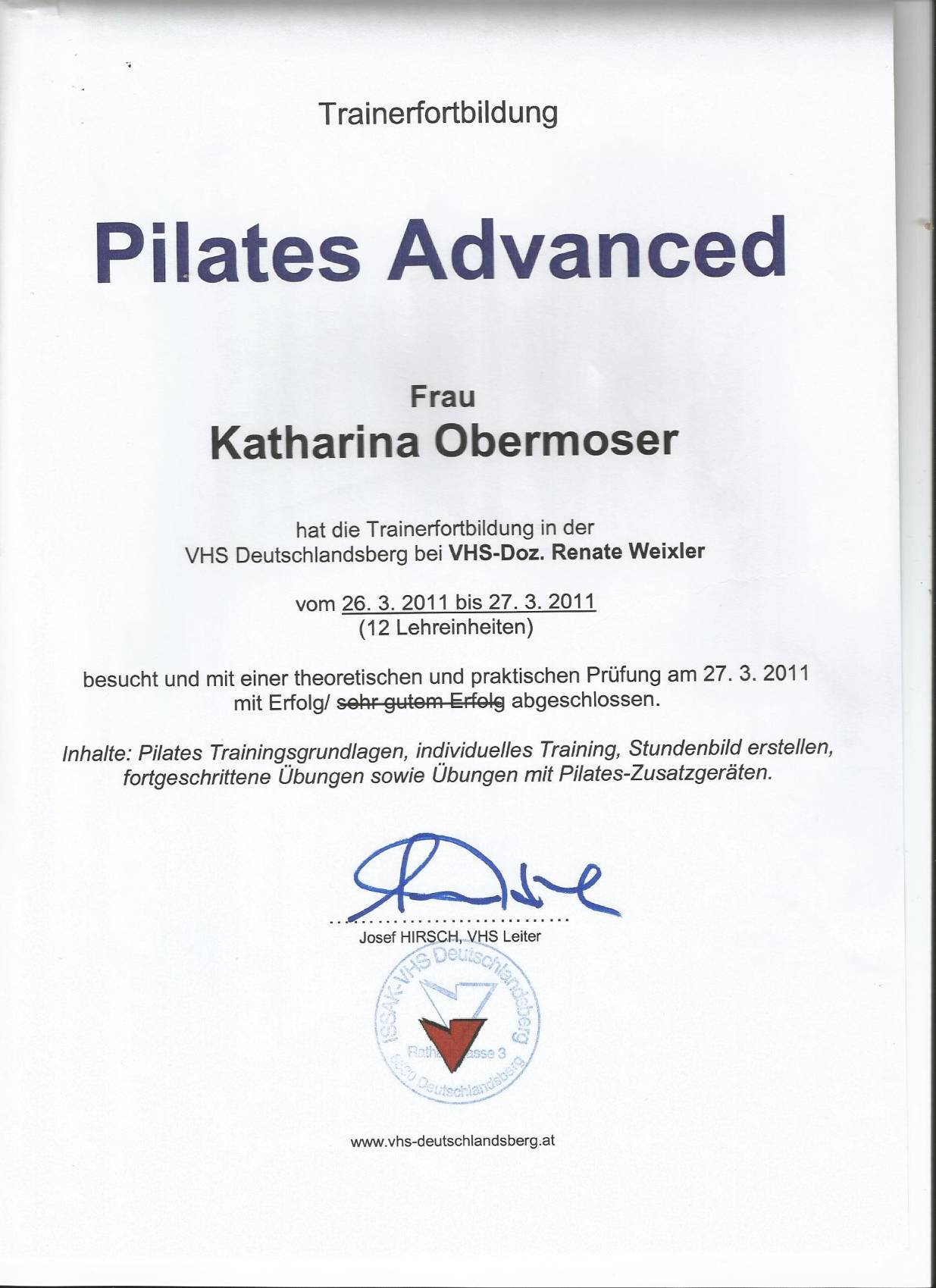 Pilates Advanced Fortbildung0008